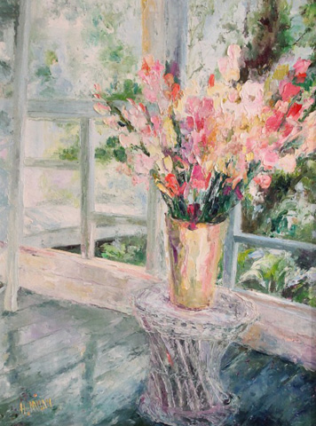 Sun Porch Bouquet 1995 50x40