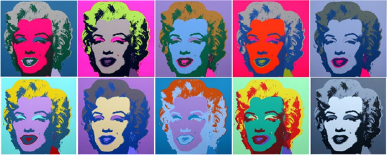 Marilyn Monroe Suite of 10 Silkscreens 2008