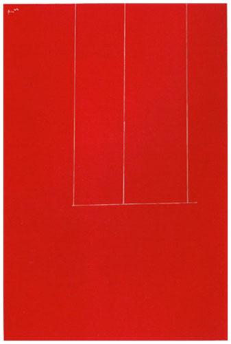 London Series I: Untitled (Red) AP 1971