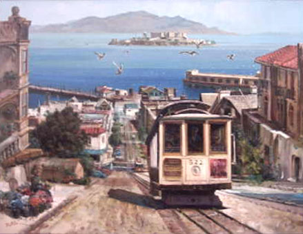 Trolly Car, San Francisco