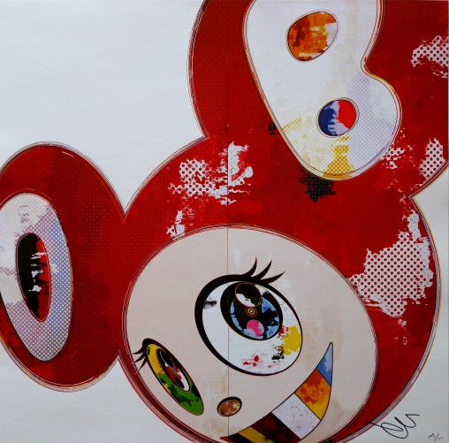 And Then 3000 (Red, White And Blue) Suite of 3 Lithographs 2013