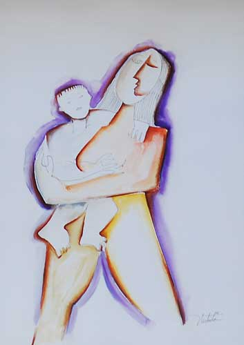 Blissful Over You (Mother and Child) 2005