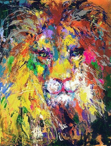 Portrait of the Lion AP 2002