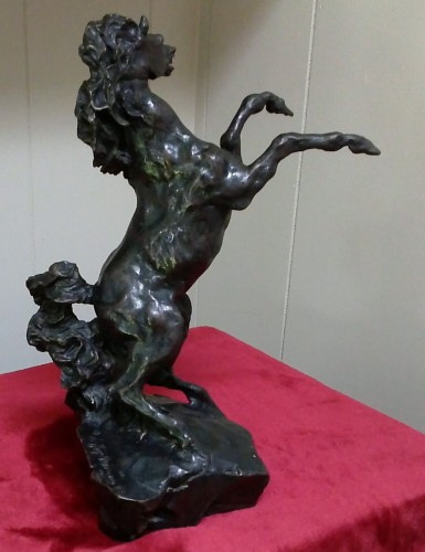 Defiant Bronze Sculpture 1987 by LeRoy Neiman