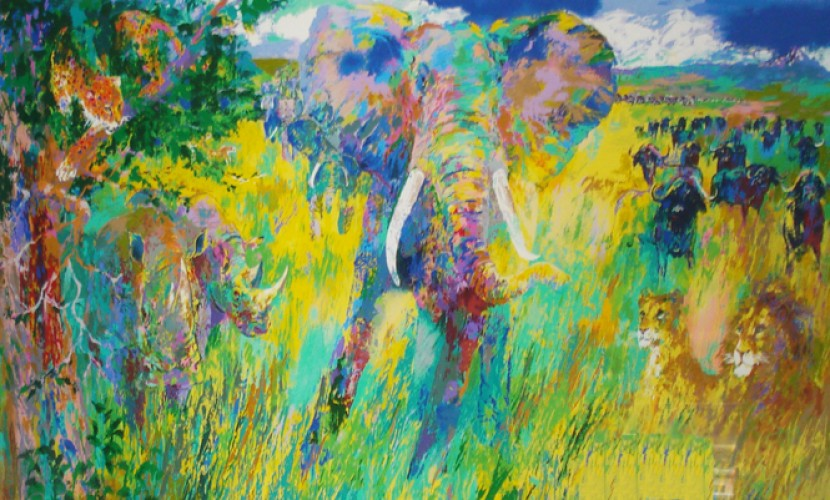 Big Five 2001 by LeRoy Neiman
