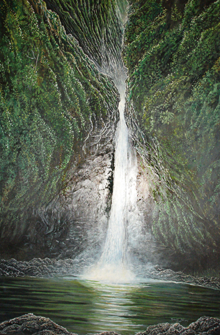 Sacred Falls, Hawaii 1975