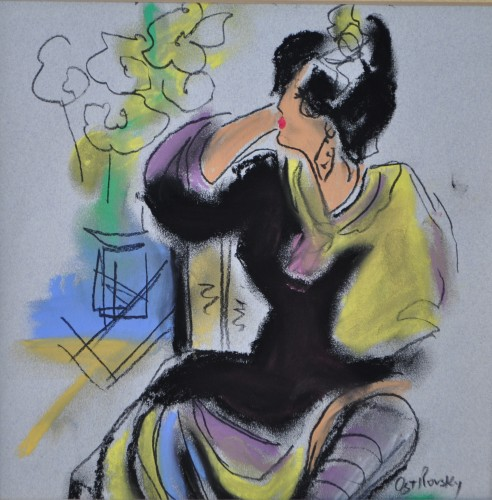 Ting Shao Kuang Serenade Drawing 1995