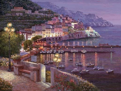 Amalfi Twilight