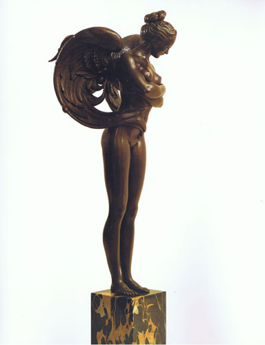 Angel Bronze Sculpture