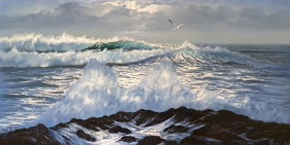 Untitled (Stormy Seascape) 1975
