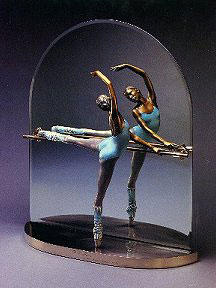 At the Barre Bronze Sculpture 1987