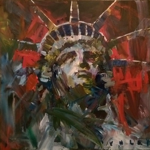 Lady Liberty 2014 by Steve Penley