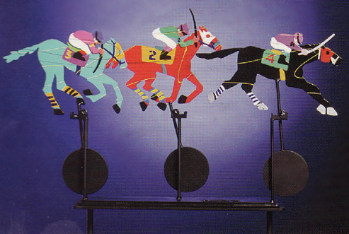 Down the Stretch Kinetic Sculpture 1994