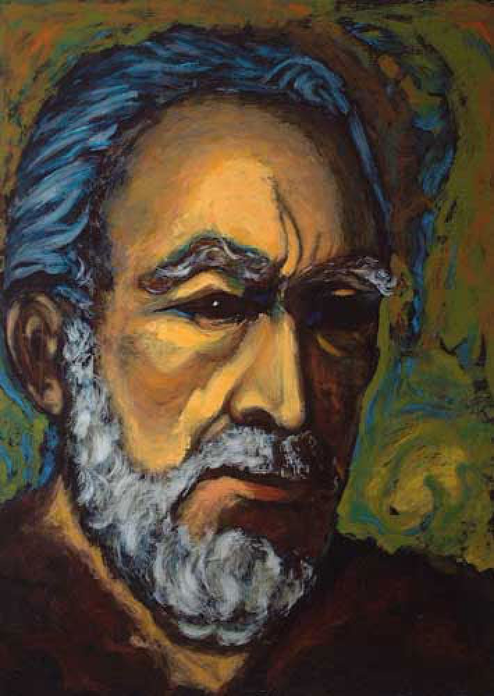 Zorba Self Portrait