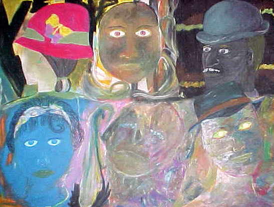 Honest Crowd Pastel 1991