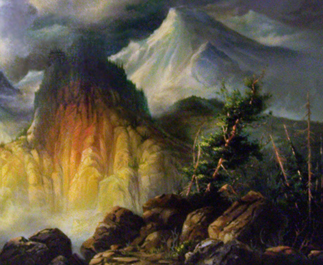Untitled Mountain Landscape