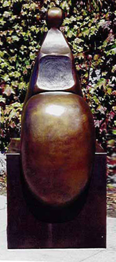 Seated V Bronze Sculpture 2001