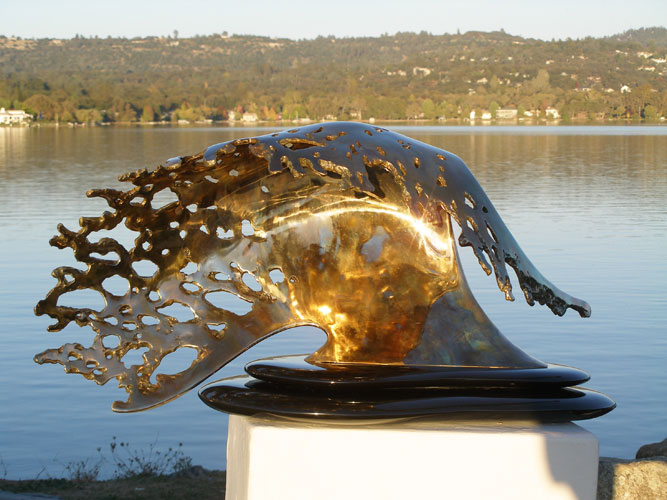 Large Wave Bronze 2010