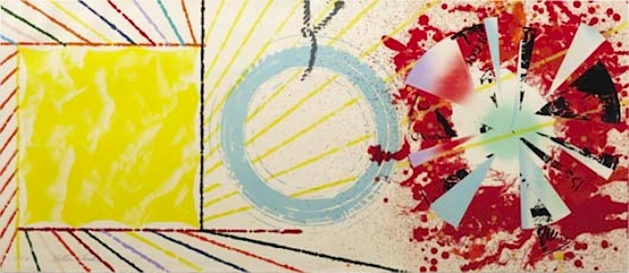 Yellow Landing 1974 by James Rosenquist