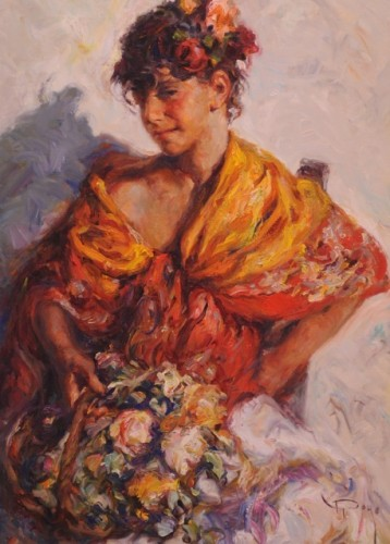 Gitanilla 1980 by  Royo