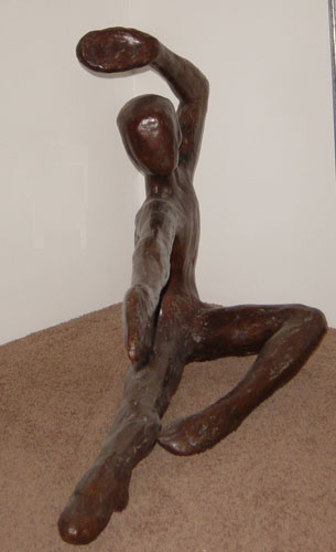 Bailarin Bronze Sculpture 1973
