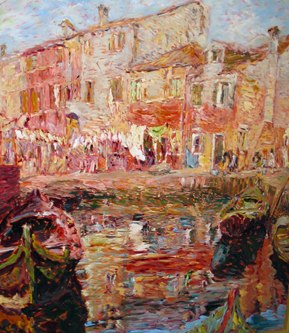 Burano, Italy 1995 by Marco Sassone