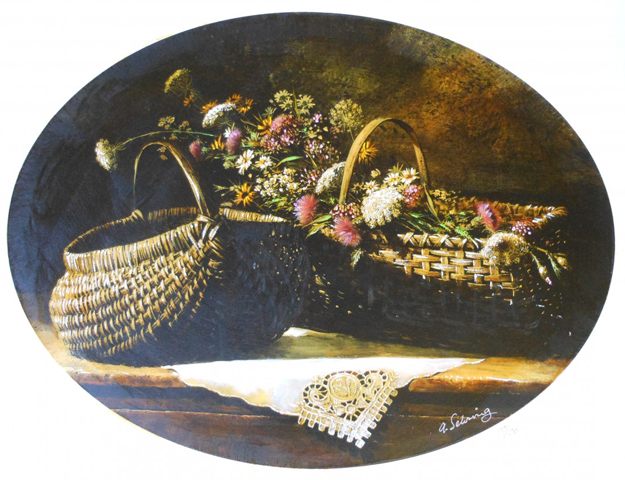 Wildflowers (Oval)