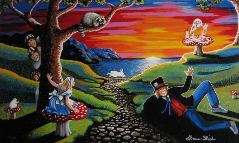 grace slick art for sale