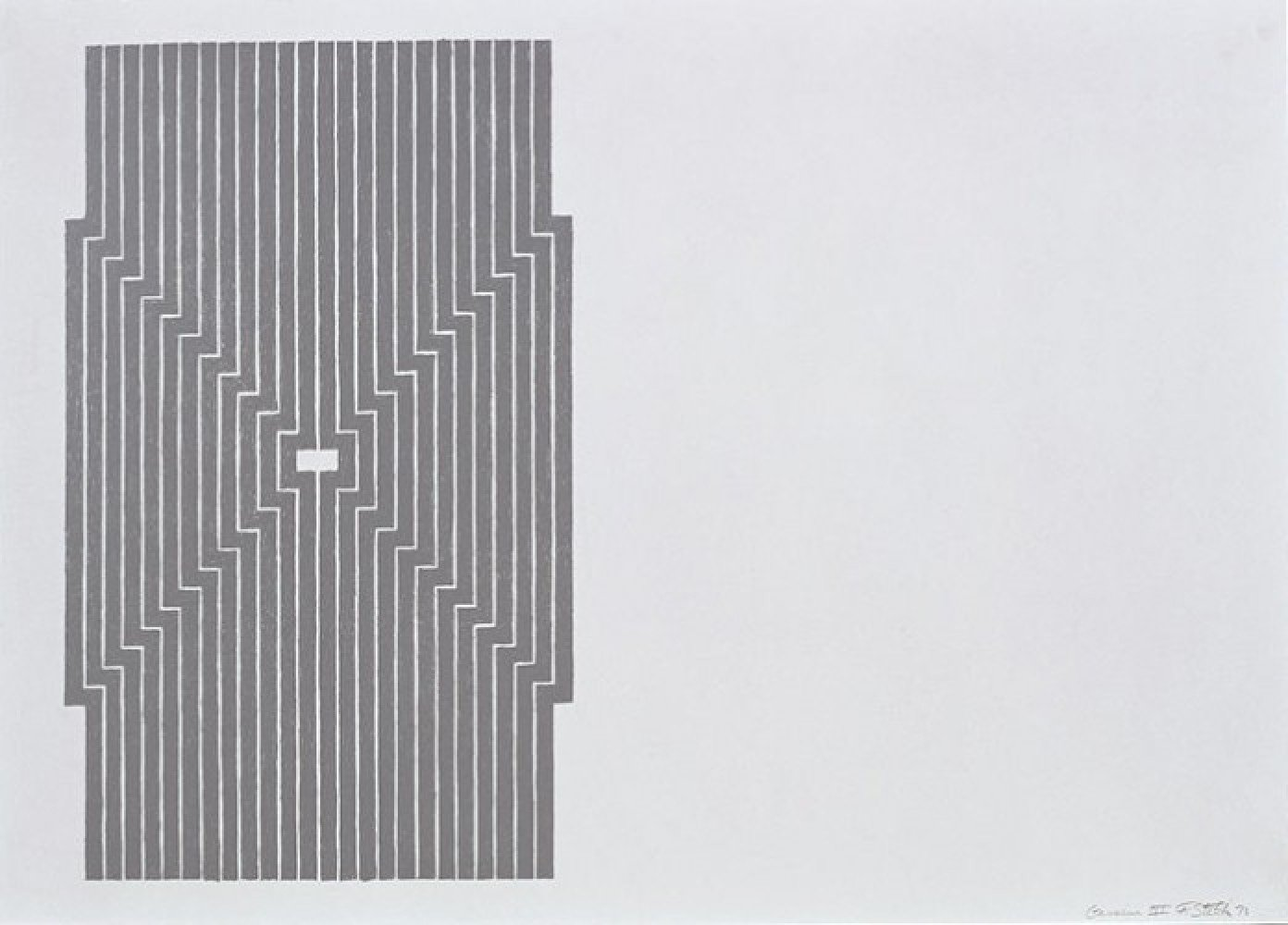Six Mile Bottom, From the Aluminum Series 1970