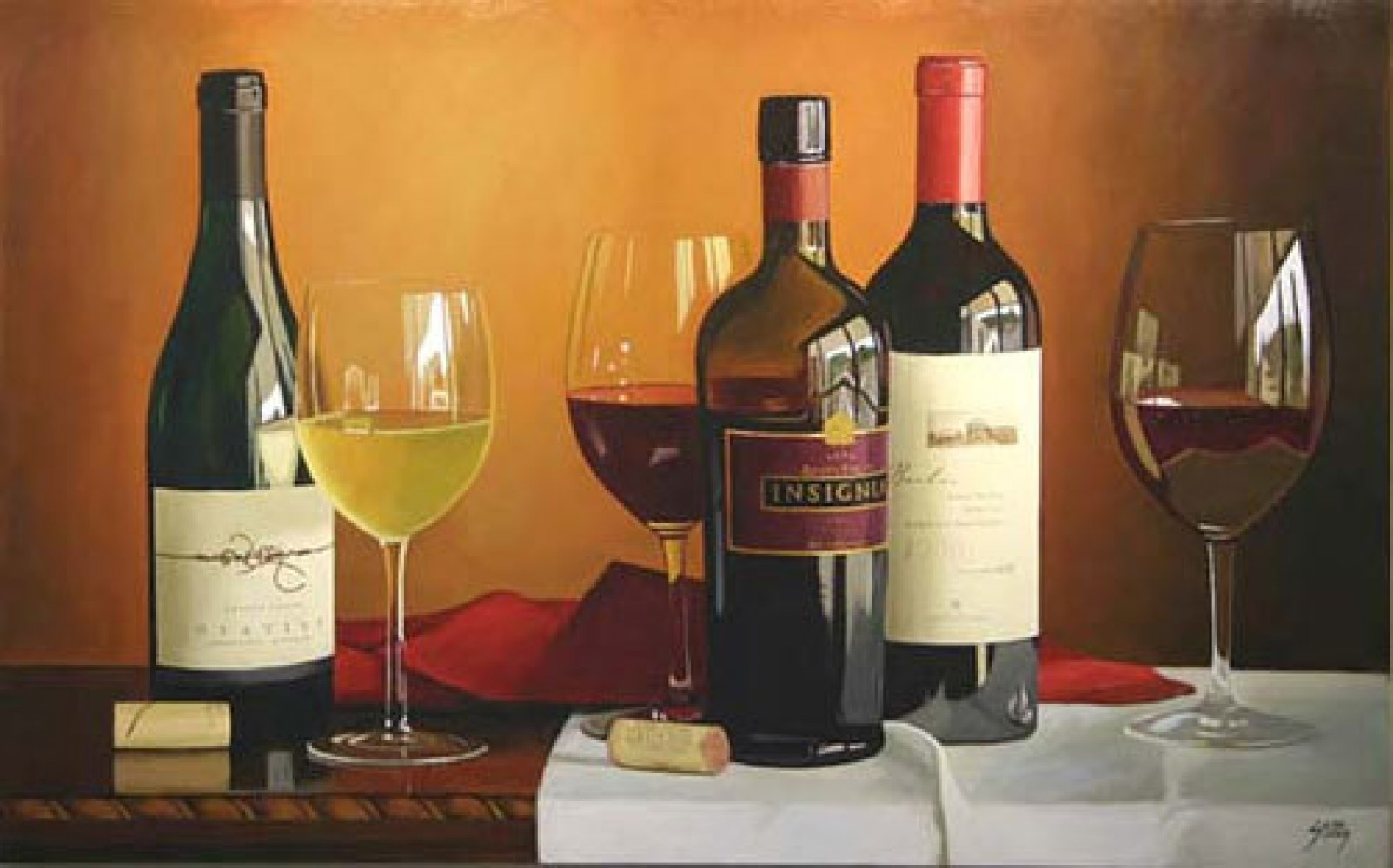 Thomas stiltz art for sale - Botellero de vino ...