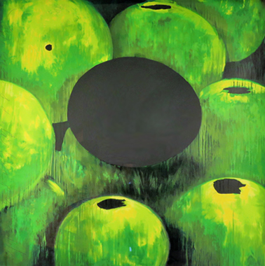 Green Apples and Egg 2000
