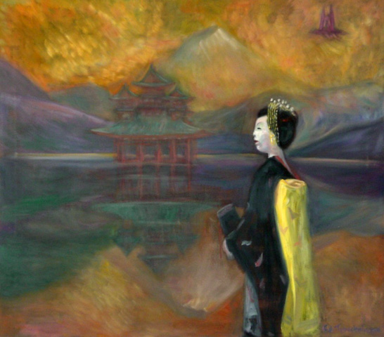 Memory of Japan, Geisha 2008 by Edward Tabachnik