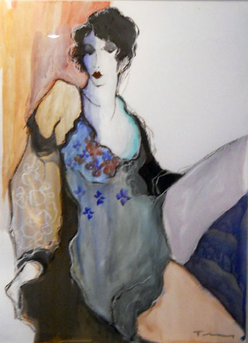 Seduction Watercolor 1996