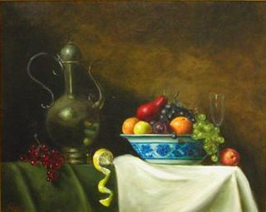 Pitcher with Bowl of Fruit 2003