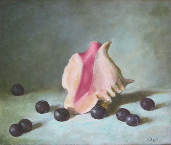 Shell And Plums 2000