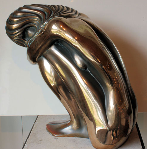 Solitude Bronze Sculpture 1980