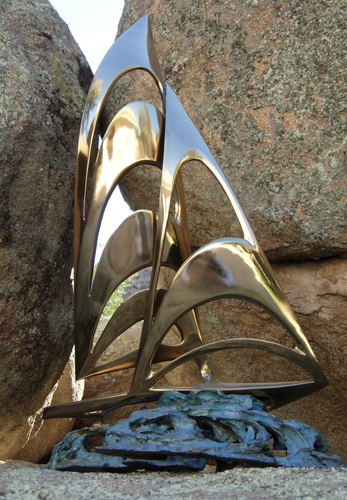 Americas Cup Bronze Sculpture
