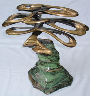 Pebble Beach Bronze Sculpture