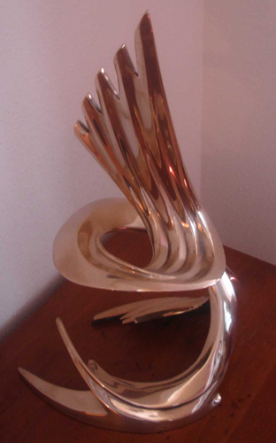 Transformation Bronze Sculpture