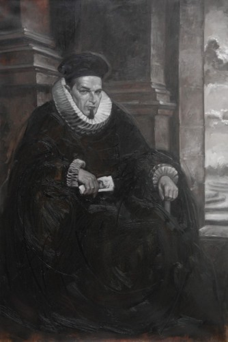Selfportrait As a 17th Century Genovese Salesman 2006