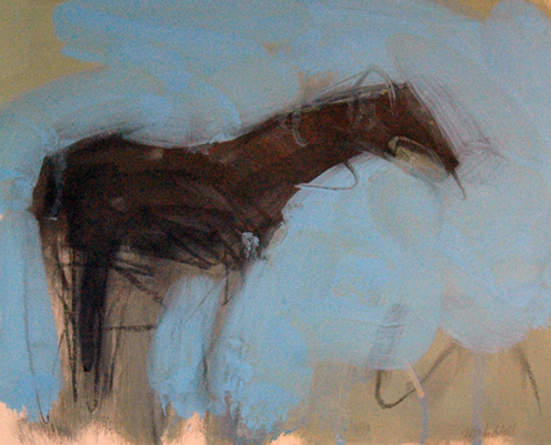 Solitary Horse 1992