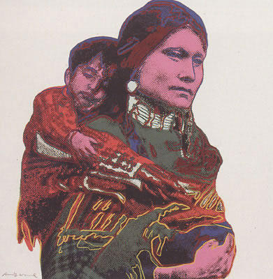 Mother and Child, From Cowboys and Indians Suite II.383 TP