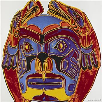 Northwest Coast Mask II.380 1986