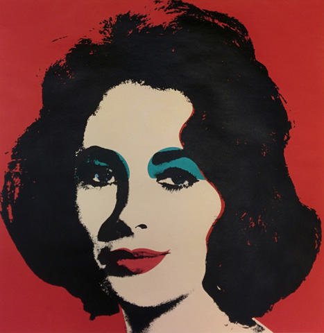 Liz  FS II.7 1964 by Andy Warhol