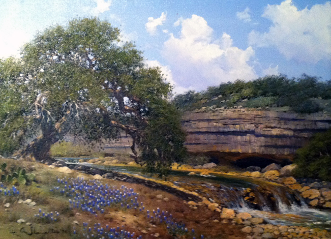 Untitled Texas Landscape 1976