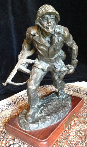 Champion of Freedom Bronze Sculpture 1987