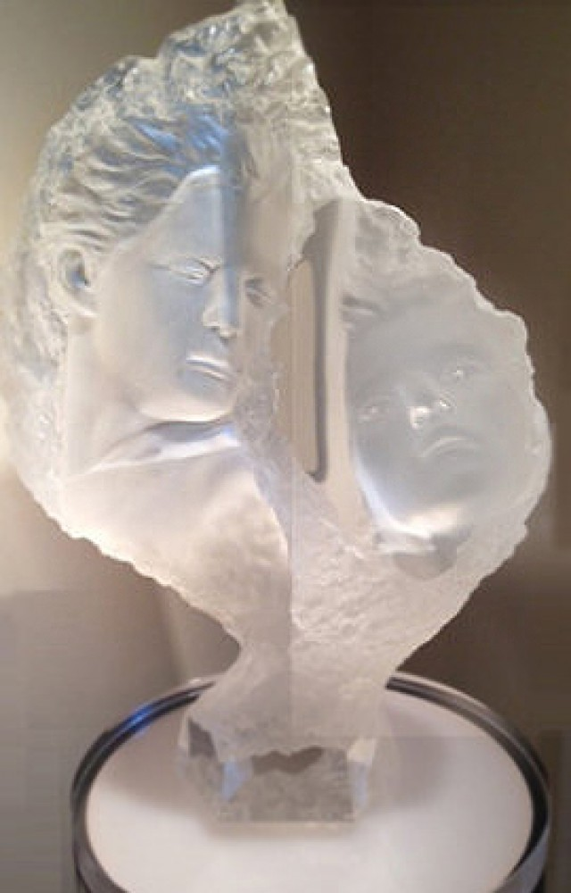 Turning Point Acrylic Sculpture 1994