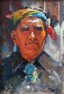 Untitled Portrait of a Native American Man