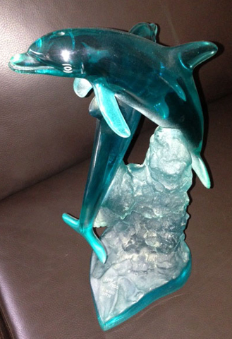 Ocean Friends Acrylic Sculpture 1995