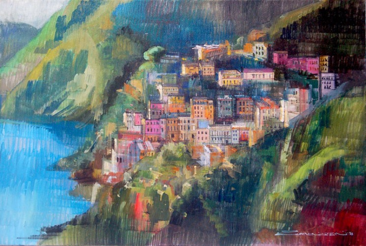 Houses in Amalfi 2014